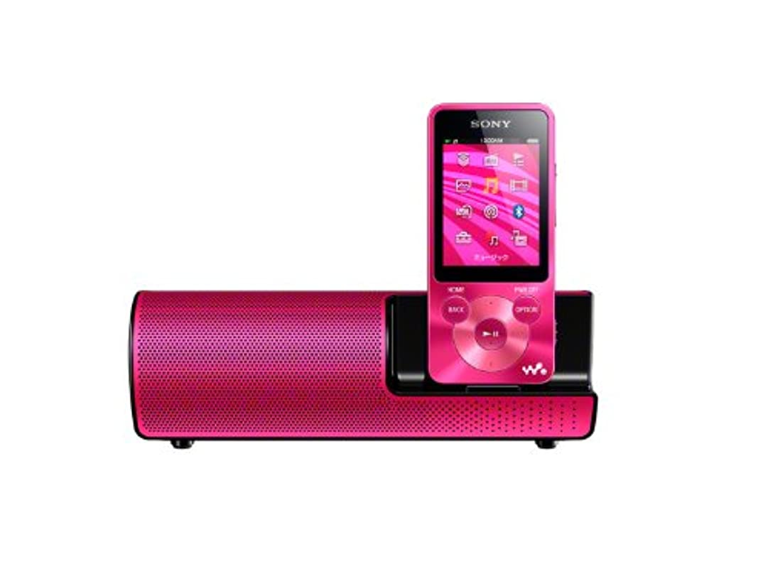 絶えず勢いバンドSONY ウォークマン Sシリーズ 8GB スピーカー付 ビビッドピンク NW-S784K/P