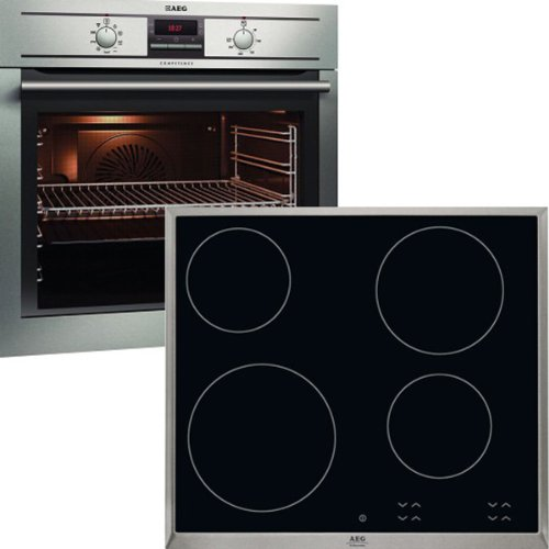 AEG Horno Set be 31060Sacacorchos de BE3003001M + hk624000cb + (eficiencia energética: A