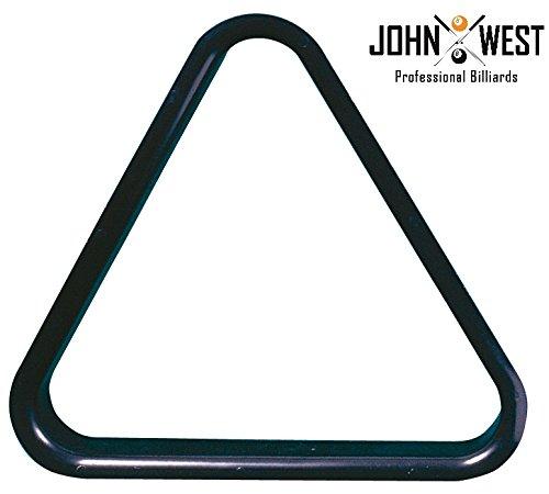 John West Triangel für 38 mm Billardkugeln PVC