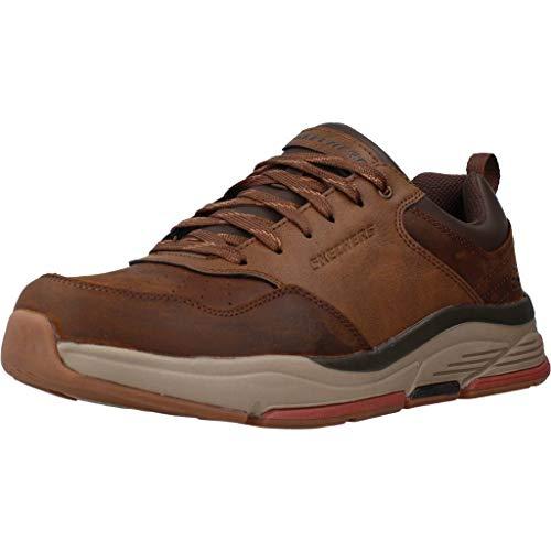 Skechers Calzado Deportivo BENAGO - TRENO para Hombre Marrón 42 EU