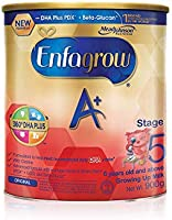Enfagrow A+ Stage 5 Growing-up Milk Formula 360DHA+, 6 years onwards, 900g