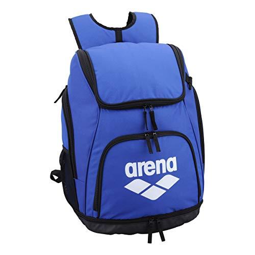 arena(アリーナ) プールバッグ 水泳用 リュック AEANJA01 ブルー × ホワイト F
