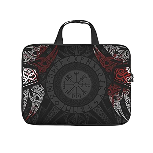 Lightweight Viking Tote Bag Laptop Tote Bag - Viking for Computer Notebook White 15 Zoll