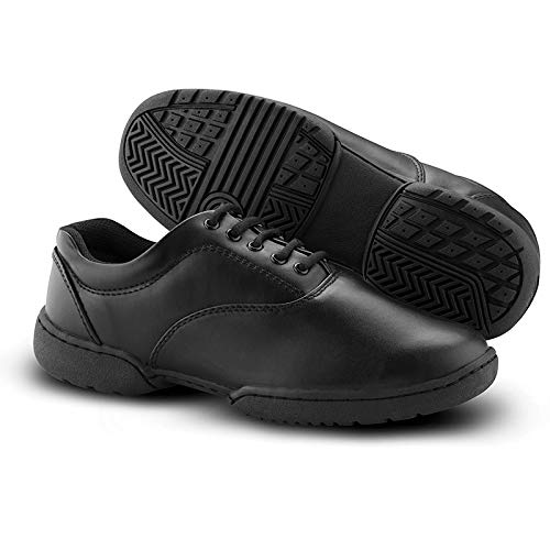 DSI Viper Marching Band Shoes (Women Wide 9.5, Black)