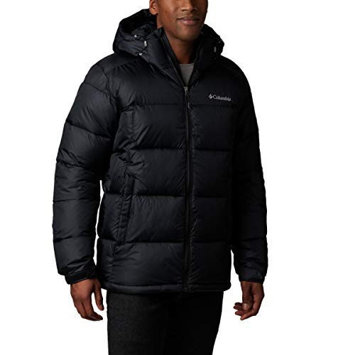 Columbia Men's Pike Lake Hooded Winter Jacket, Water repellent & Breathable