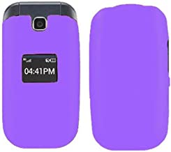 JFXONE Hard Protector SnapOn Scratch Resistance Cover Phone Case Accessory for LG True 450 MS450 B460 B450 (Purple)