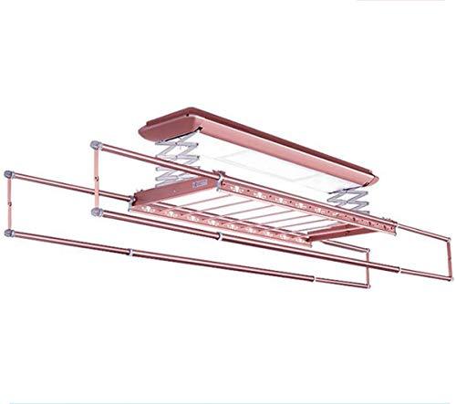 NANXCYR droogrek voor wasmachine, voor het drogen van de deken, voor kleding, elektrisch, met LED, afstandsbediening