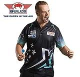 Bulls Darts Max HOPP Maximiser Matchshirt Dart Shirt Trikot Design 2018 Dart Trikot (L)