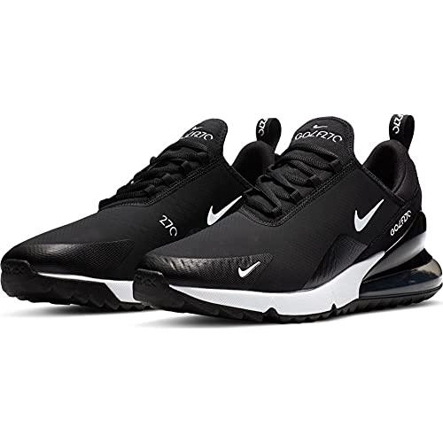 Nike Air MAX 270 G, Zapatillas para Correr de Carretera Unisex Adulto, Punzón Caliente en Blanco y Negro, 40.5 EU