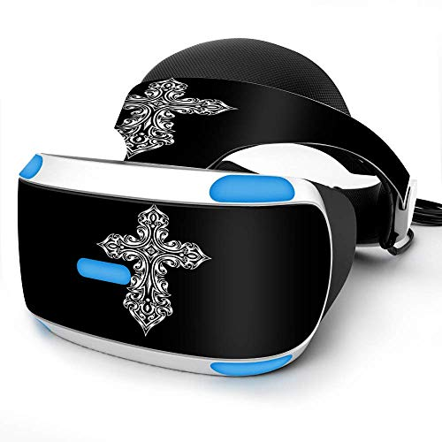 Sony Playstation VR Headset Skin Decal Vinyl Wrap - Tribal Celtic Cross