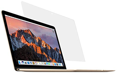 MyGadget Protector Pantalla para Apple MacBook 12' Retina 2015-2017 / Modelo A1534 - Lámina Transparente Oleo fóbico & Hidrofóbico - Filtro Crystal Clear
