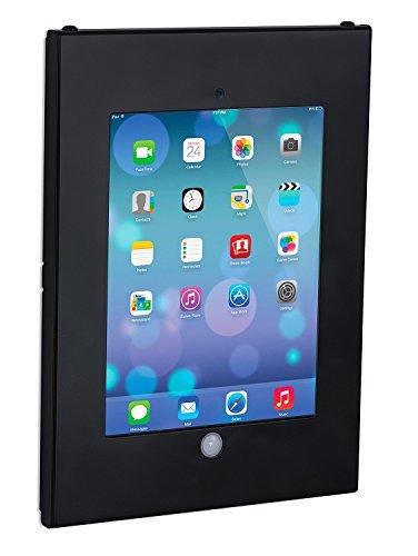 Mount-It! Anti-Theft Tablet Wall Mount for iPad | Secure iPad Wall Kiosk | Contact-Less iPad Mount | Locking Enclosure for iPad 9.7 Models (MI-3772B)