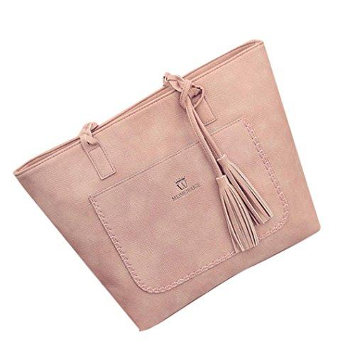 Damenhandtaschen Ronamick Damen Mode Quaste Handtasche Schultertasche große Tote Damen Geldbörse...
