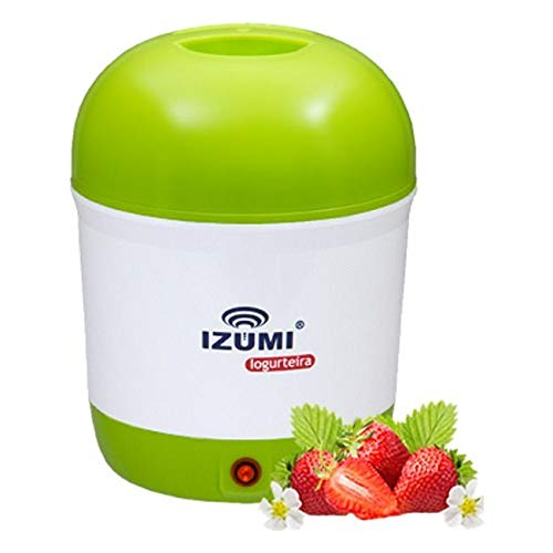 Iogurteira Elétrica Izumi 1 litro Bivolt Emagreça Com Saúde