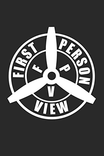 First person view: 6x9 FPV | lined | ruled paper | notebook | notes