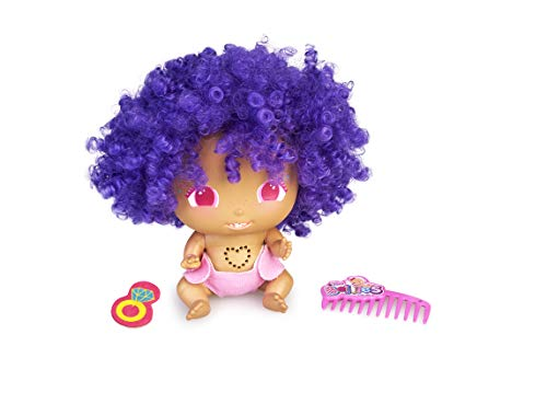 The Bellies From Bellyville- Bibi-Buah, Afro, Pelo Rizado Violeta, Bellie Rapero, Regalo (Famosa 700015797)