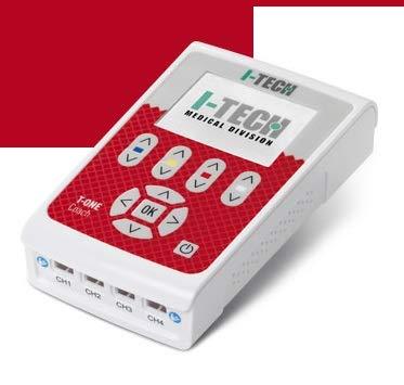 Electroestimulador I-TECH T-One Coach–4canales–48programas + 10programas doble usuario–Dispositivo médico CE 0476