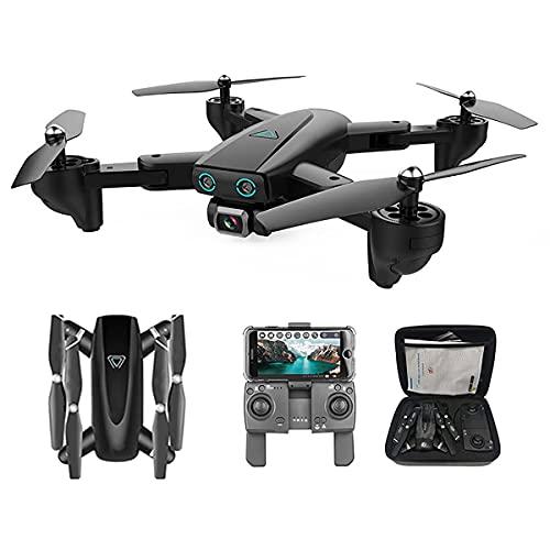 GZTYLQQ Drone con cámara 4k, Adecuado para Principiantes en Modo de retención de Altura, despegue/Aterrizaje con una tecla, Control de Gestos, Control de Aplicaciones
