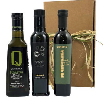 Da Vinci Crude Tour Extra Virgin Olive Oil Gift Set 3x250ml bottles