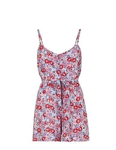 Tiffosi Vestido corto tirantes floral - XS, Azul