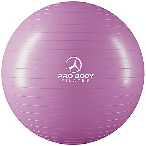 ProBody Pilates Ball Exercise Ball Yoga Ball, Multiple Sizes Stability...