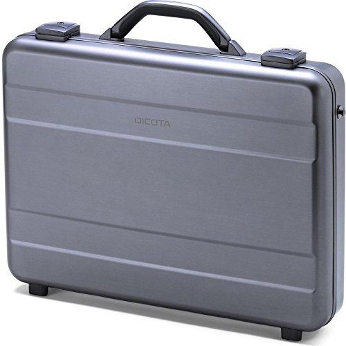 Dicota D30589 Alu Briefcase für Notebook bis 43,9 cm (17,3 Zoll) silber
