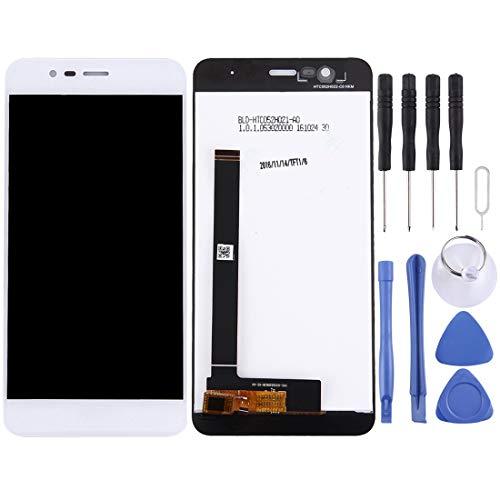 BEIJING LCDSCREEN/Pantalla LCD y digitalizador Conjunto Completo para ASUS ZENFONE 3 MAX / ZC520TL / X008D (versión 038) (Color : Blanco)