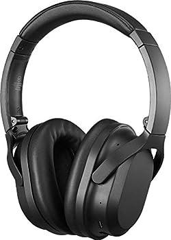 Insignia NS-AHBTOENC Wireless Noise Canceling Over-The-Ear Headphones - Black