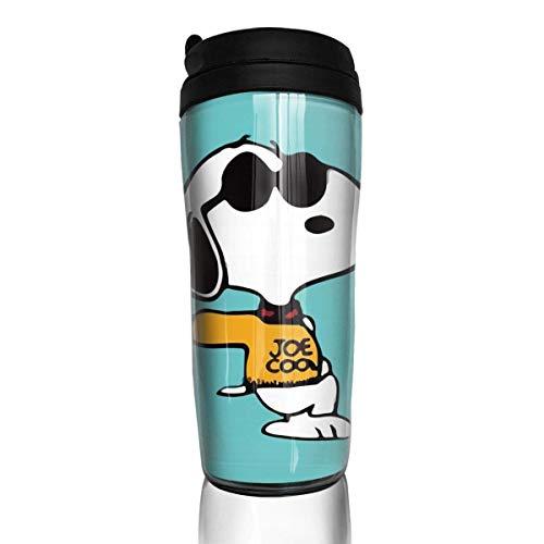 Cooler Snoopy Kaffeebecher Travel Mug Thermobecher Isolierbecher Doppelwandig Isolierung Kaffeetasse