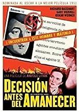 Absolute Distribución  - Decisión antes del amanecer (dvd)