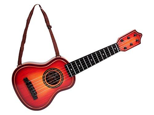 Alsino Kinder Gitarre | Akustik Gitarre | mit Umhängeband | Durchmesser Bauch: 18,5 cm | 6 Saiten & 52 cm groß