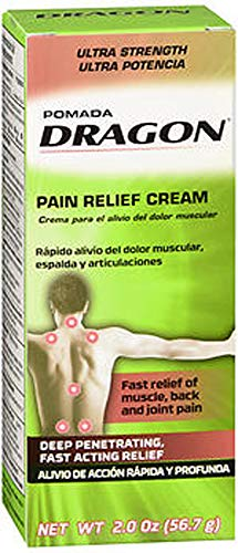 Dragon Pain Relief Cream - 2oz, Pack of 2