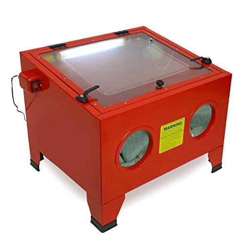 80psi Table Top 5cfm Abrasive Sandblaster Blast Cabinet -