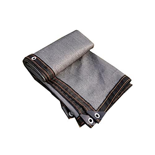 Shade Cloth Net 90% Protección Resistente a los UV Plantas Flores Piedras domésticas Pantalla de Sombra al Aire Libre Borde Grabado con gromos,4 * 6m
