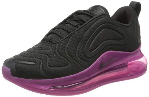 Nike Air Max 720 (GS), Scarpe da Corsa, off Noir/off Noir/Cosmic Fuchsia/Iced Lilac, 39 EU