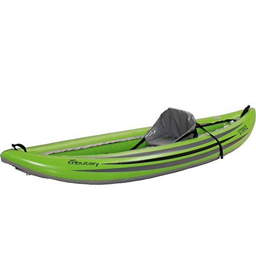 AIRE Tributary Strike Inflatable Kayak-Lime