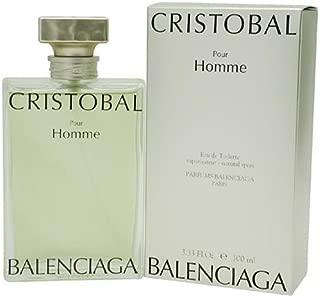 Cristobal By Balenciaga For Men. Eau De Toilette Spray 3.3 Ounces