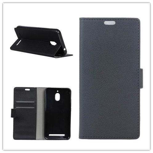 F&a® Flip Brieftasche Hülle für BlackBerry AURORA (Schwarz)