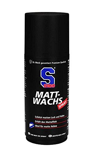 Dr. Wack - S100 Matt-Wachs Spray 250 ml I Premium Motorrad-Sprühwachs für alle Motorräder I Für alle matten Oberflächen geeignet I Hochwertige Motorradpflege – Made in Germany