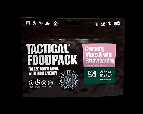 Tactical FoodPack Crunchy Muesli Strawberries (125g)