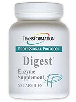 Transformation Enzyme - Digest* Capsules- Supports Overall Digestive and Immune System Health, Aids The Digestion of Lipids to Enhance The Performance of The Pancreas and Liver,