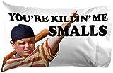 Jay Franco Sandlot Smalls 1 Single Reversible Pillowcase Features Ham Porter - Double-Sided, Super Soft Bedding (Official Sandlot Product)