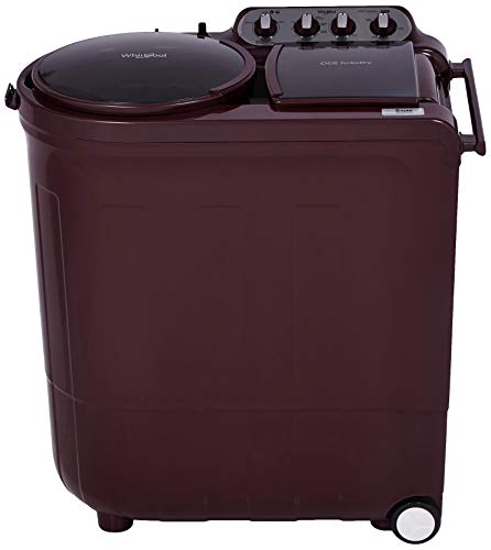 Whirlpool 8 Kg 5 Star Semi-Automatic Top Loading Washing Machine (ACE 8.0 TURBO DRY, Wine Dazzle)