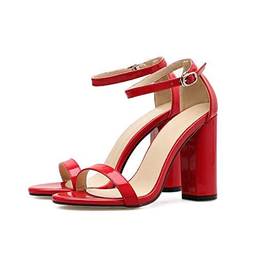 8cm High Heels Sandals Female Block Purple Pink Heels Pumps Lady,2203-3,8.5