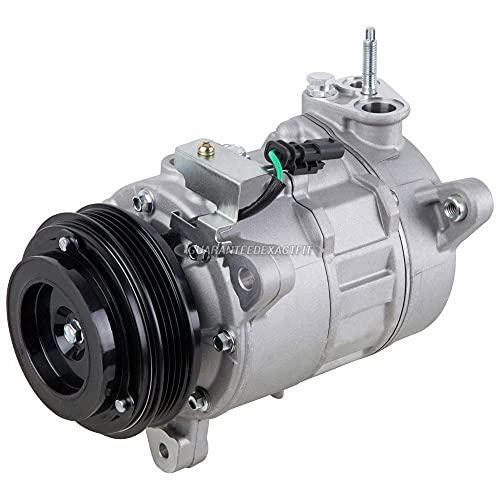 AC Compressor & A/C Clutch For Chevy Silverado GMC Sierra 1500 Pickup 4.3L V6 2014 2015 2016 - BuyAutoParts 60-03828NA New