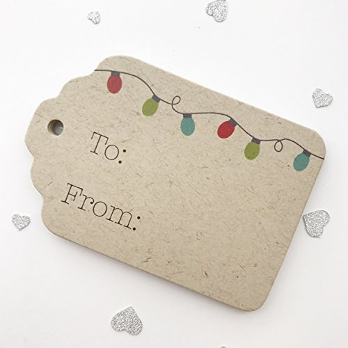 Merry Christmas Gift Tags, Christmas Gift Wrap Tags (ST-109-KR)