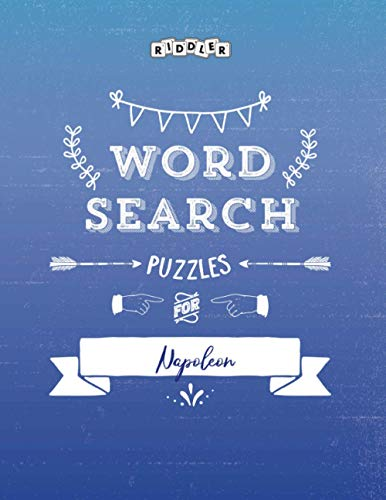 Word Search Puzzles for Napoleon