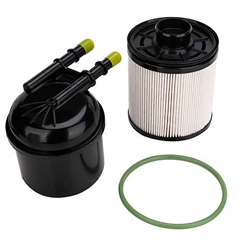 FD-4615 5 Micron Fuel Water Separator Filter for 2011 2012 2013 2014 2015 2016 Ford F250 F350 F450 F550 HD Ford Super Duty Truck Pickup 6.7 Powerstroke Diesel Fuel Filter - Replaces FD4615, BC3Z9N184B