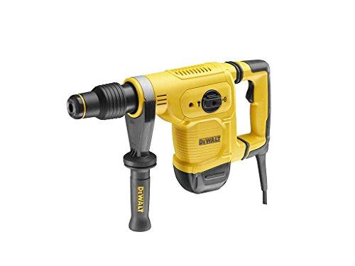 Dewalt SDS-max Meißelhammer/ Schlagbohrmaschine (1050 Watt, vibrationsarm, ideal für mittelschwere Meißelarbeiten in Mauerwerk,Stein,Beton, mit Perform und Protect) D25851K
