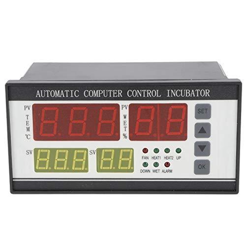 Termostato de incubadora Pantalla LCD de Pantalla Grande Fácil de Usar Controlador de incubadora automático 220 V para incubación